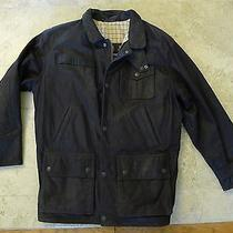 Barbour Leather Bushman Jacket - Insulated (For Men) Size M/l Photo