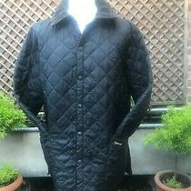 Barbour Liddesdale Men's Black Quilted Country Casual  Jacket Size Large Photo