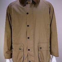 Barbour  Light Brown 'Lightweight Bedale' Waterproof Barn Jacket Men's Large Photo