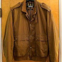 Barbour Lightweight Wax Bomber Jacket Size Large Photo
