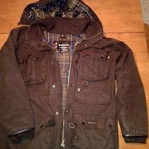 Barbour Man's Breathables Jacket or Coat With Hood Medium Photo