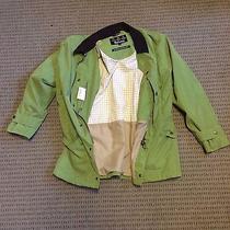 Barbour Men's Green Large Waterproof Jacket (Like New) Photo