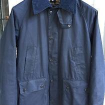 Barbour Men's Waxed Jacket Bedale  C34 Navy-Gently Worn Photo