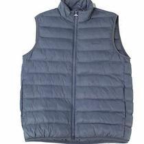 Barbour Mens Jacket Blue Size Medium M Vest Full Zip Bretby Gilet 180 092 Photo