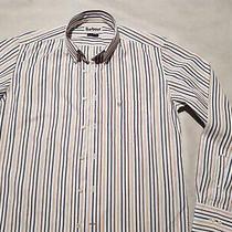 Barbour - Merrivale - Brown / Navy  Size s(us) / m(euro) - Men's Shirt Photo