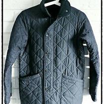 Barbour Microfibre Polarquilt Boy's Jacket Size 10/11 L Photo