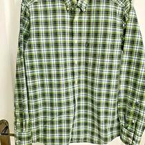 Barbour Navy  Green Check Shirt Size S Chest 40/42