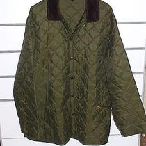 Barbour  Quilted Jacket Bomber  Cotton Jacket Xl Photo
