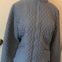 Barbour Quilted Jacket Periwinkle Blue Sz 12 Us Photo