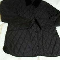 Barbour  Quilted Jacket Uk 10  Ladies Eskdale Black Photo
