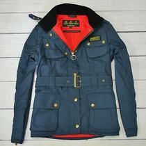 Barbour Rainbow International Gold Womens Jacket Waterproof Size 12 Uk Medium M Photo