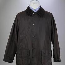 Barbour Recent 'Bedale' Brown Waxed Cotton Barn Jacket C42 / 107cm Photo