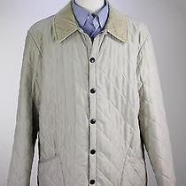 Barbour  Recent Beige Diamond Quilted 'Classic Eskdale' Barn Jacket Large Photo