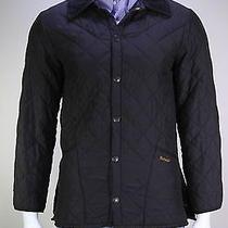 Barbour  Recent Black Diamond Quilted 'Eskdale' Barn Jacket Men's Xs Photo