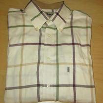 Barbour Regular Fit Plaid Long Sleeve Shirt Size Medium Free Us Ship Photo