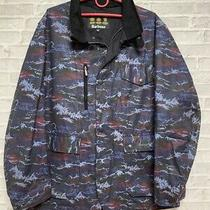 Barbour Retail Kenmore Navy Camo Wax Jacket Xxl  Rrp 250 Photo