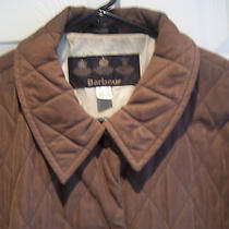 Barbour Shaped Microfiber Short Brown L2062 Size 14 Excellent Condition Photo