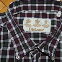 Barbour Shirt Long Sleeved Size L Cell Photo