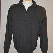 Barbour Storm Men's Sweater Large Wool New New New Ave  Photo