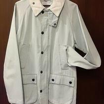 Barbour Stylish Denim Jacket Size 38 9899 Photo
