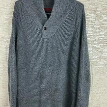 Barbour Sweater Men's Grey Wool Sweatshirt Size Xxl Photo