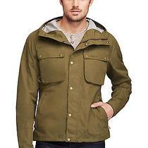 Barbour Tape Fly Jacket X-Large Xl Olive Hooded Windbreaker Waterproof 349 Photo