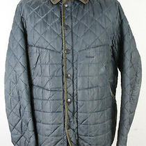 Barbour Tatton Blue Quilted Jacket Size Xl Photo