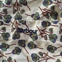 Barbour Taylor Tailored Button Down Clover Floral Print Size 8 Photo