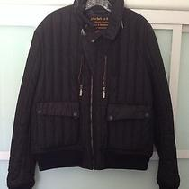 Barbour to Ki to Navy Quilted Bomber Jacket Xl Photo