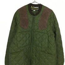 Barbour Warrants Genuine Leather Suede Patch Quilti 10051 Photo