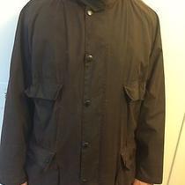 Barbour Wax Man Brown Jacket Size L Photo