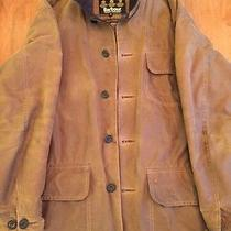 Barbour Waxed Cotton Barn Jacket With Waterproof Inner Lining Mens Xl  Photo