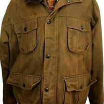 Barbour Weather-Worked Utility T100 Size Xxlarge Brown Waterproof Jacket Photo
