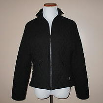 Barbour Women's Tailored Microfiber Short Jacket Quilted Size 6 Photo