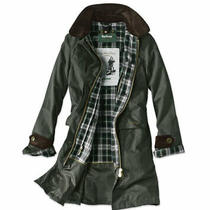 Barbour Womens Icons Haydon Waxed Cotton Jacket Uk 12 Us 8 Sage Green Photo