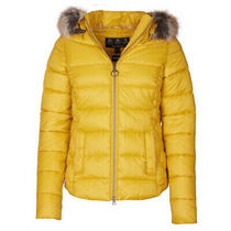 Barbour Womens Irving Quilt Jacket Golden Yellow - January Sale Photo