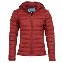 Barbour Womens Murrelet Quilt Jacket Burnt Red - January Sale Photo