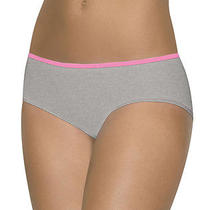 Barely There Women's Contrasting Waistband Stretch Tailored Hipster Panty. 21b3 Photo