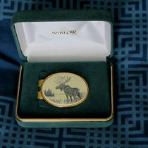Barlow Money Clip With Moose Scene Still in Case Photo