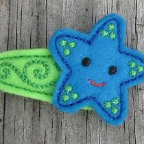 Barrette Girls Hair Accessory Handmade Felt Hair Clippie Photo