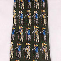 Basic Elements Green Golfer Tie Silk Golf Novelty Club Mens Photo