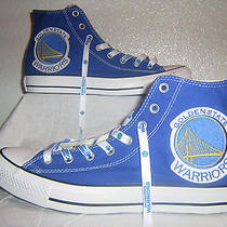 Basketball Custom Converse Mens Size 11 Blue High Top Sneakers New Photo