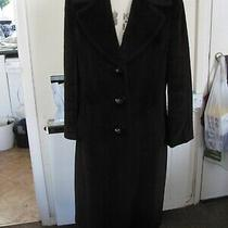 Basler Ladies Winter Coat  Size 12 Dark Brown Soft Warm Photo