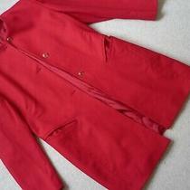 Basler Pure Wool Jacket/duster Coat Size 10 Vintage/classic Style Photo