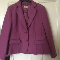 Basler Size 16 Jacket Virgin Wool Lilac Photo