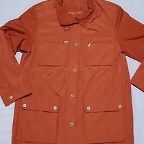 Basler Sport Women Orange Jacket Size 38 Great Condition Photo