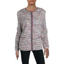 Basler Womens Multi Tweed Zip-Up Workwear Blazer Jacket Plus 20 Bhfo 3925 Photo