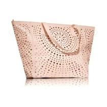 Bath & Body Works 2017 Black Friday Vip Tote Bag Only Blush Pink Rose Gold New Photo