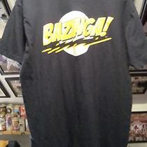Bazinga Big Bang Theory Adult Size Xl T-Shirt Previously Owned Gently Worn Photo