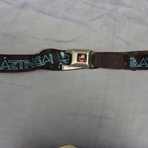 Bazinga Car Seat Belt Buckle. the Big Bang Theory . Tron Style Photo